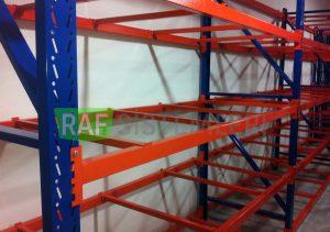 4 katlı depo raf sistemi