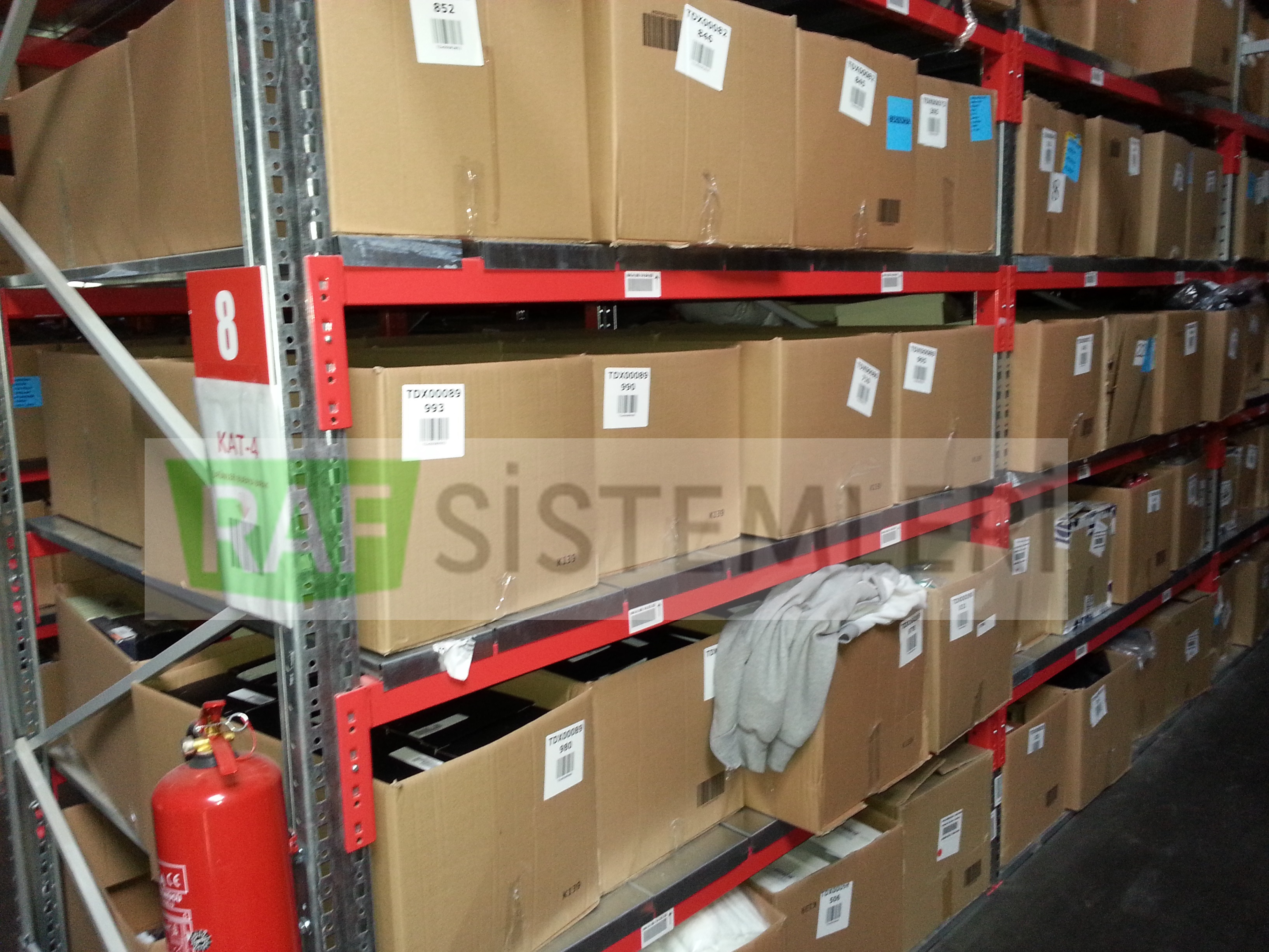 Sipariş Hazırlama Raf Sistemleri