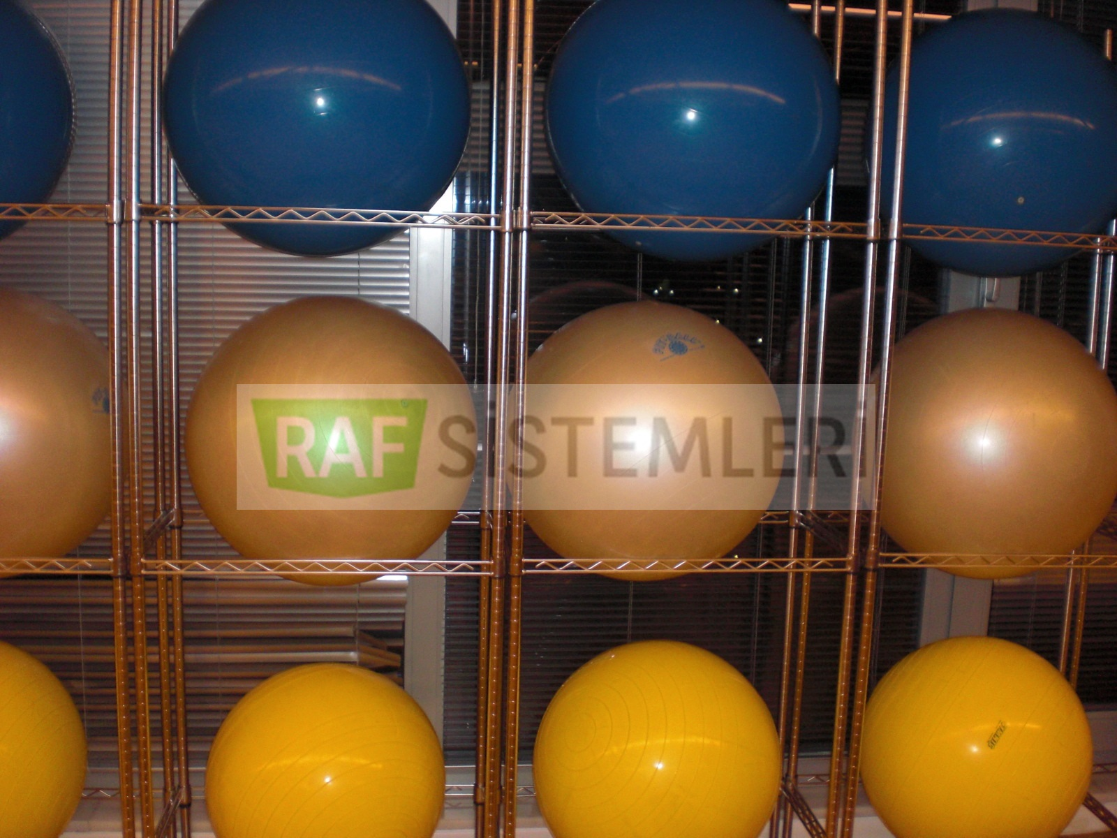 Plates Toplari Raf Sistemleri